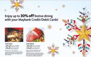Maybank Christmas Promotions