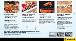 Maybank Christmas Promotions