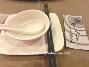 chin lee teo chew restaurant table setting