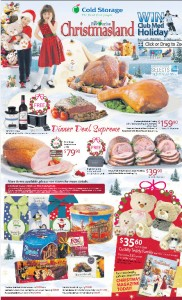 cold storage christmasland supermarket promotions