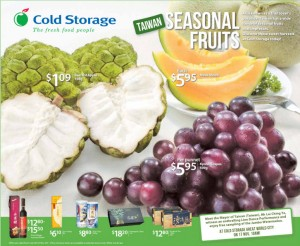 cold storage supermarket promotions taiwan fruits