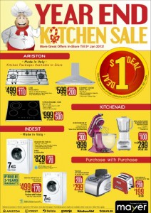 mayer kitchen sale