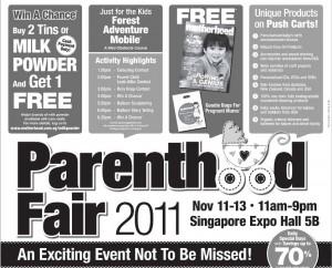 parenthood fair 2011 promotions