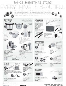 tangs christmas kitchenware promotions