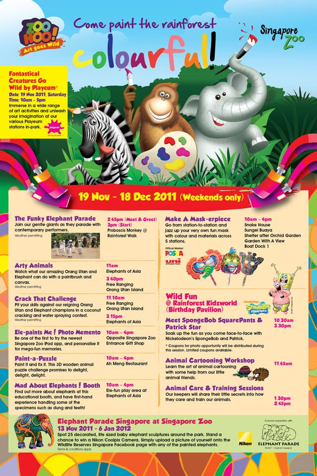 Singapore zoo zoo hoo event for the little ones this - How do you make wild animal in little alchemy ...