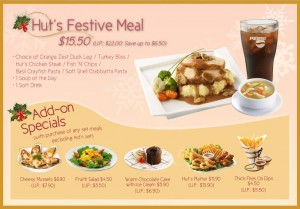 Pizza Hut Christmas Festive Meal