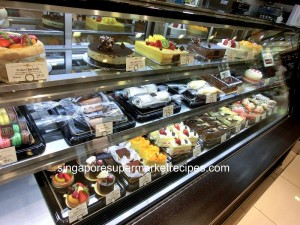 Rive Gauche Patisserie Counter