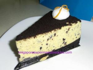 Rive Gauche Patisserie Oreo Cheesecake