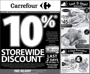 carrefour  supermarket promotions oyster