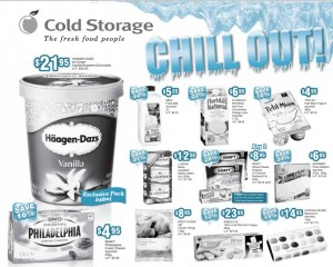 cold storage chill  supermarket promotions