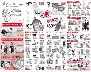 cold storage chinese new year  supermarket promotions