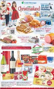 cold storage christmasland promotions