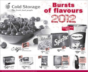cold storage party supermarket promotions