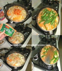 How to cook kimchi chigae
