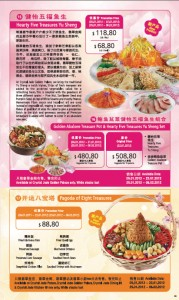 crystal jade chinese new year promotions hearty five treasures yu sheng