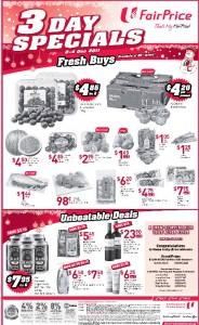 fair price 3 days specials