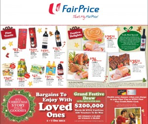 fairprice christmas promotions
