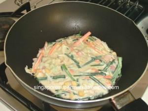 okonomiyaki japanese pancakes panfried