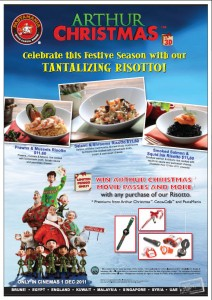 pasta mania christmas dining promotions