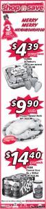 shop n save christmas  supermarket promotions