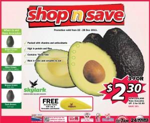 shop n save  supermarket promotions avocado