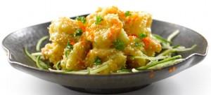 tung lok wasabi mayo prawns