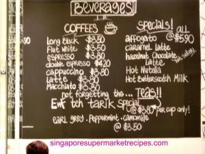Ewf at Orchard Central Beverages Menu