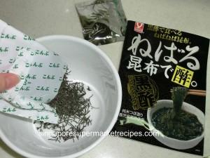 daiso sticky seaweed