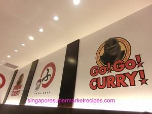 gogo curry and huhu udon wall decor