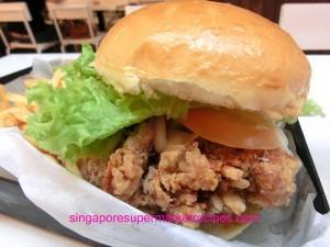 Ewf at Orchard Central Har Jeong Kai Burger with Handmade Buns