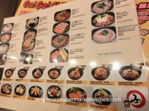 huhu udon noodle menu