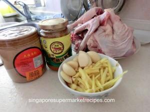 nam yue duck ingredients