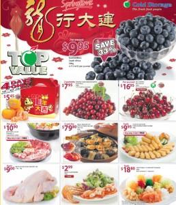Cold Storage  Chinese New year Yusheng Supermarket Promotions