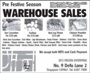 Ed frozen enterprise frozen goods warehouse sale