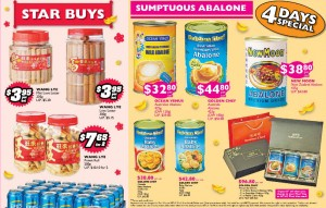 Fairprice Chinese New Year  Supermarket Specials Abalone