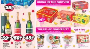 Fairprice Chinese New Year  Supermarket Specials Beverages