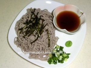 Japanese New Year  Cold Soba