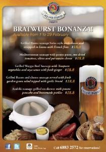 Paulaner Brauhaus Bratwurst Bonanza