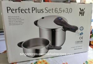 WMF pressure cooker