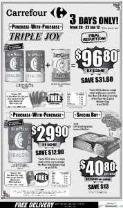 carrefour  supermarket promotions abalone