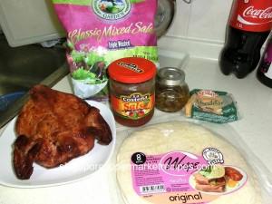 chicken quesadilla ingredients