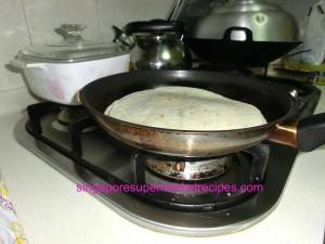 chicken quesadilla low fire