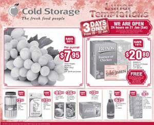 cold storage lunar  supermarket promotions