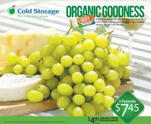 cold storage  grapes supermarket promotions