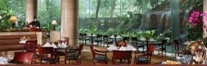dining room at sheraton towers
