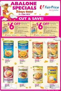 fairprice abalone chinese new year  supermarket promotions