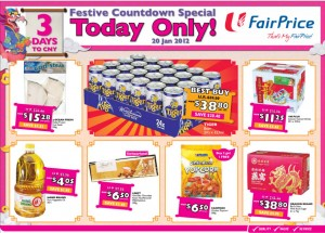 fairprice  supermarket promotions today only