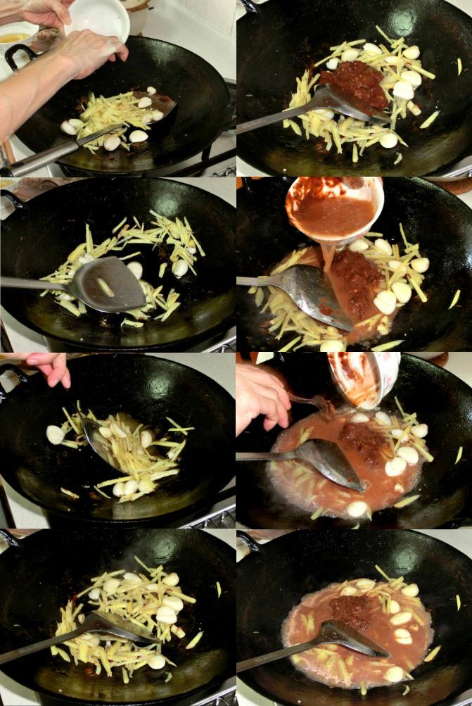 nam yue duck stew frying procedure