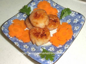 reunion dinner ideas japanese miso butter scallops