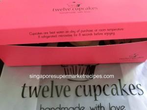 twelve cupcakes instructions